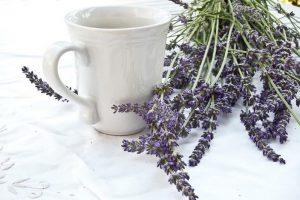 Lavendel als Teeaufguss