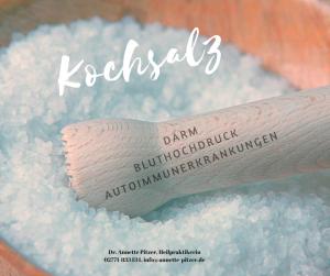 Kochsalzkonsum und Mikrobiom