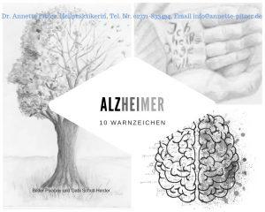 Anzeichen für Alzheimer