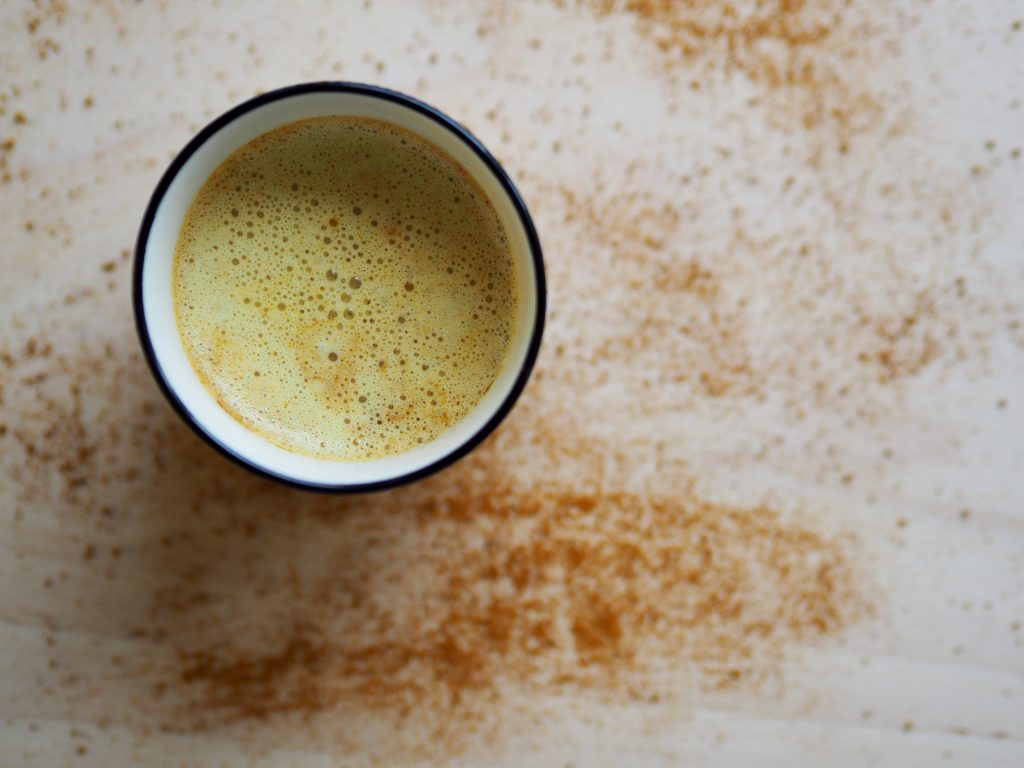 Kurkuma Goldene Milch