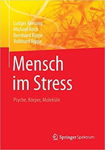 Psychoneuroendokrinologie mensch im Stress